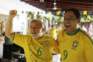 Lula and Orlando Silva